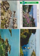 4 CPM DPT 22 BREHAT - Cartes Postales