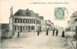 Soudan - Route De Châteaubriant à Pouancé - Café Blanchard - Billard Tabacs - 1907 - Ohne Zuordnung