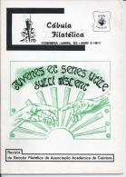 CHEAT SHEET PHILATELIC-Portugal.5 Magazines Philatelic Section Of The AAC.Nº1 (4/1982),3 (12/82),8 (3/84) 9(7/84)11 E12 - Riviste