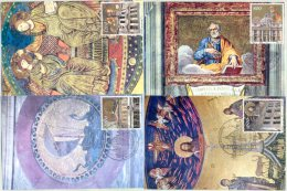 2000 Vaticano, Anno Santo Del 2000, Serie Completa - Cartes-Maximum (CM)