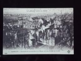 62 VERMELLES PANORAMA DE LA PARTIE NORD DU VILLAGE GUERRE 1914 - Sonstige Gemeinden