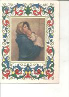 RICORDI RELIGIOSI.MADONNA CON BAMBINO  .XX - Religion & Esotérisme