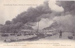 ANTWERPEN   Incendie Des Tanks De Pétrole à Hoboken - Antwerpen