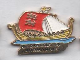 Beau Pin's , Marine Bateau , Drakkar Normandie - Barcos