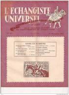 "L´ECHANGISTE UNIVERSEL ""LA VIE PHILATELIQUE"" REVUE MENSUELLE ILLUSTREE 25 NOVEMBRE1953 REF 15328 - Francesi (dal 1941))"