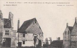 Cpa/pk 1918 Loo Lo-Reninge La Guerre 1914-17 Bataille De L´Yser Ce Qui Reste Encore De L´hospice Destrooper - Lo-Reninge