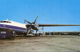 AIRCRAFT  ON  APRON,  LUTON  AIRPORT  -  AUTAIR  INTERNATIONAL  AIRWAYS. - Aérodromes