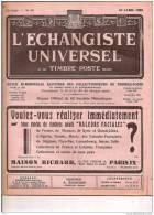 ECHANGISTE UNIVERSEL ET TIMBRES POSTE REUNIS 25 AVRIL 1938 REF 15339 - Riviste