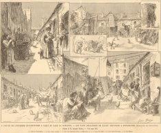 92. Les Cités Insalubres De CLICHY Destinées à Disparaître. 1892 - Unclassified