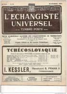 ECHANGISTE UNIVERSEL ET TIMBRES POSTE REUNIS 25 FEVRIER 1938 REF 15343 - Riviste