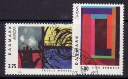 DENMARK 1993  EUROPA CEPT   USED  /zx/ - 1993