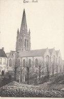 Cpa/pk 1918 Loo Lo-Reninge Kerk Gyselinck - Lo-Reninge