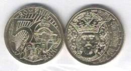 2011 Romania Roumanie Rumanien 50 Bani Limited Issue 1 Pcs. Uncirculated King Mircea Cel Batran - Roumanie