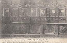 Cpa/pk 1913 Loo Lo-Reninge Kerk Broodbank Met Schilderijen Der Barmhartigheid Ghyssaert - Lo-Reninge