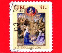 IRLANDA - Eire -  2002 - Natale - Christmas - Noel - Navidad - Adorazione Dei Magi - 41 C