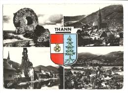 Cp, 68, Thann, Multi-Vues, Voyagée 1958 - Thann