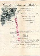 79 - RIBLAIRE PAR SAINT VARENT- TRES BELLE FACTURE GRANDE LAITERIE DE RIBLAIRE- BEURRE 1933 - France