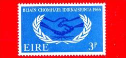 IRLANDA - Eire -  Nuovo - 1965 - Anno Internazionale Della Cooperazione - 3 P - 1949-... Repubblica D'Irlanda