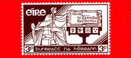 IRLANDA - Eire -  Nuovo, Linguellato - 1958 - 21 Anni Della Costituzione - 3 - 1949-... Repubblica D'Irlanda