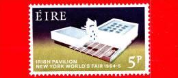 IRLANDA - Eire -  Nuovo, Linguellato - 1964 - Fiera Mondiale Di New York, 1964-1965 - 5 P - 1949-... Repubblica D'Irlanda