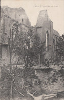 Cpa/pk 1920 Loo Lo-Reninge L´église Vue Sur Le Coté Destrooper - Lo-Reninge