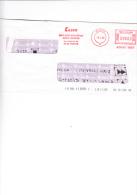 CESVE - Servizi Informativi - Padova  1998 - Affrancature Meccaniche Rosse (EMA)