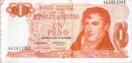 UN PESO - D-LEY - Argentinien