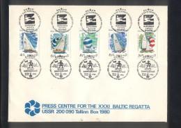 Russia Tallinn 1980 Olympics - Sin Clasificación