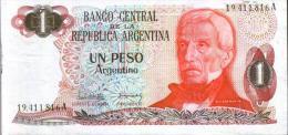 UN PESO ARGENTINO - Argentinien