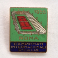 Badge / Pin ZN000336 - Tennis Italia Rome International Championship 1955 - Tennis