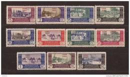 CJ162-L4102TM.Marruecos Maroc Marocco CABO JUBY ESPAÑOL COMERCIO.1948. (Ed  162/72**) Sin Charnela MUY.BONITA - Marruecos (1956-...)