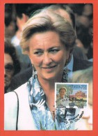 Paola Ruffo Di Calabria  Roma Filatelico Regina Dei Belgi  23.5.1997 - Cartes-Maximum (CM)