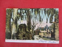 > FL - Florida > Daytona Ruins Of Old Sugar Mill 1907 Cancel    Ref  1105 - Daytona