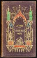 TASTU LECTURES POUR JEUNES FILLES 1842 HISTOIRE MORALE VOYAGES SCIENCE ROMAN - Bücher, Zeitschriften, Comics