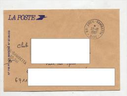 Lettre Dispensee ? Cachet Creil Gambetta - Marcophilie (Lettres)