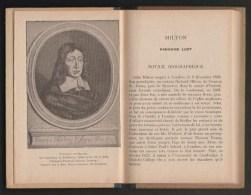 1924 -  Livre ´´ The Paradise Lost ´´ De Milton - Extraits Par P.Chauvet - Programme Scolaire De 1931 - Livres Anciens