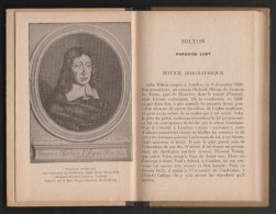 1924 -  Livre '' The Paradise Lost '' De Milton - Extraits Par P.Chauvet - Programme Scolaire De 1931 - Livres Anciens