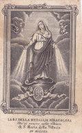 SANTINO  INCISIONE B.V. DELLA MEDAGLIA MIRACOLOSA   CM.11,3 -2--0882-18860 - Andachtsbilder