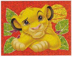 Autocollant Panini Carrefour Disney - Le Roi Lion N° 147 Avec Code Non Utilisé - Panini