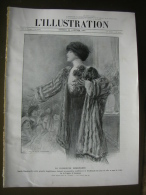 L'ILLUSTRATION 3700 SARAH BERNHARDT/ RHODES/ GRECE/ SAVOIE/ DIRIGEABLE/ NAVIGATEUR  24 Janvier 1914 - L'Illustration