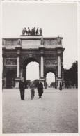PARIS EN 1936,ARC DE TRIOMPHE DU CARROUSEL EN 1936,CONSTRUIT SOUS NAPOLEON BONAPARTE,PHOTO ANCIENNE ORIGINALE - Lieux