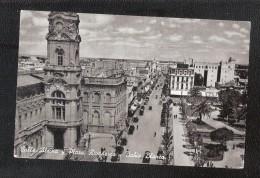 ARGENTINA  Calle Alsina Y Plaza Rivadavia, Bahia Blanca - Argentina