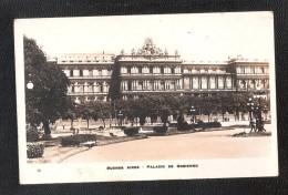 RP ARGENTINA BUENOS AIRES PALACIO DE GOBIERNO No 587? G BOURQUIN Y CIA - Argentina