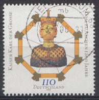 DUITSLAND Mi: 2088 1200.Jahre Aachener Dom 2000 Used-Gebruikt-Oblitere - [7] West-Duitsland