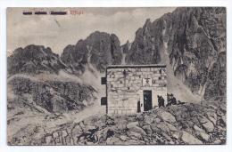 RIFUGIO CIMA D´ASTA - DAL FRONTE 1915 - Italia