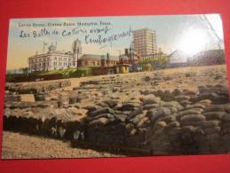 Levee Scene , Cotton Bales , Memphis , Tenn   Les Balles De Cottons Avant Embarquement Post Card - Memphis