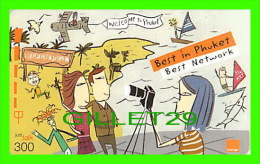 TÉLÉCARTES THAILANDE - BEST IN PHUKET, BEST NETWORK - 300 BAHT - 12/2006 - PHONECARDS - - Comics