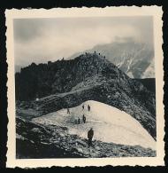 Photo Originale (Août 1955) : LE MONT BLANC, Côté Italie, COURMAYEUR - Italia