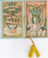 """CALENDARIETTO  """"LE MUSE"""" AL PROFUMO """"SUANA """" DELLA PROFUMERIA SIRIO MILANO CON POCHETTE   1930  -2--0882-18863-864 - Calendriers"""