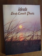 IDEALS BEST LOVED POETS CROWELL LONGFELLOW SCHULTZ BURGESS BRYANT WHITMAN JAQUES 1978 - Poetry